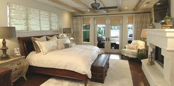 Online design Transitional Bedroom by Riddhi M. thumbnail