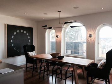 Online design Transitional Dining Room by Michelle P. thumbnail