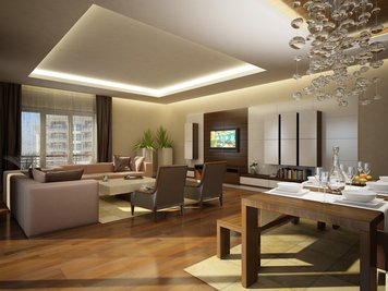 Online design Modern Combined Living/Dining by Nika R. thumbnail