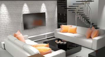 Online design Modern Living Room by Raul N. thumbnail