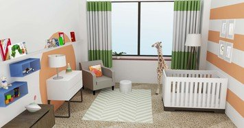 Online design Eclectic Kids Room by Tabitha M thumbnail