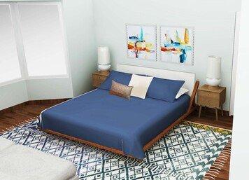 Online design Modern Bedroom by Tabitha M thumbnail