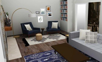 Online design Eclectic Living Room by Tabitha M thumbnail