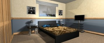 Online design Modern Bedroom by Daisy A. thumbnail