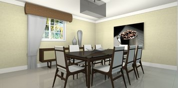 Online design Modern Dining Room by Daisy A. thumbnail