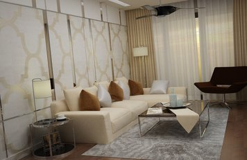 Online design Contemporary Living Room by Sara T thumbnail