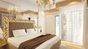 Online design Traditional Bedroom by Sara T thumbnail