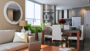 Online design Contemporary Dining Room by Aldrin C. thumbnail