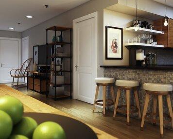 Online design Eclectic Kitchen by Aldrin C. thumbnail
