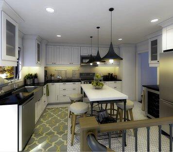 Online design Transitional Kitchen by Aldrin C. thumbnail