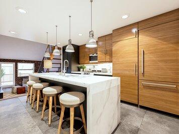 Online design Contemporary Kitchen by Aldrin C. thumbnail