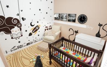 Online design Modern Kids Room by Quyne N thumbnail