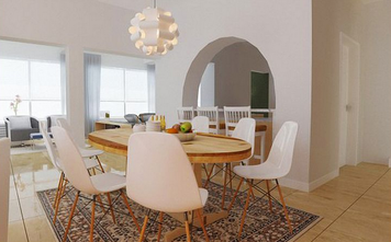 Online design Eclectic Dining Room by Quyne N thumbnail