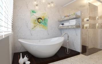 Online design Modern Bathroom by Quyne N thumbnail