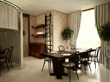 Online design Transitional Dining Room by Yonathan W. thumbnail