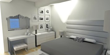 Online design Contemporary Bedroom by Laura A. thumbnail