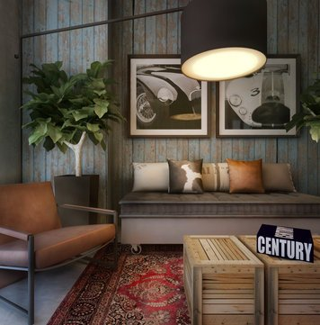 Online design Eclectic Living Room by Ibrahim H. thumbnail