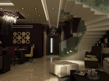 Online design Modern Living Room by Andrew Z. thumbnail