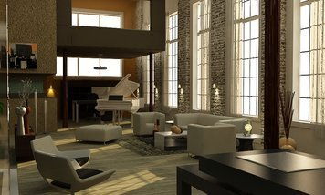 Online design Contemporary Living Room by Andrew Z. thumbnail