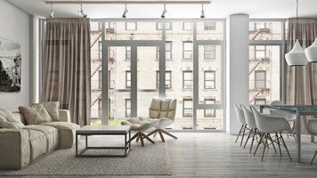 Online design Combined Living/Dining by Julian A. thumbnail