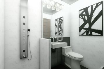 Online design Modern Bathroom by Picharat A.  thumbnail