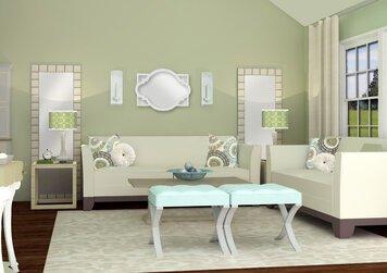 Online design Glamorous Living Room by Rebecca M thumbnail