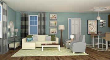 Online design Beach Living Room by Rebecca M thumbnail