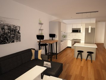 Online design Contemporary Combined Living/Dining by Angelica V. thumbnail