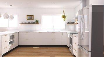 Online design Modern Kitchen by Anna S. thumbnail