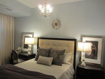 Online design Glamorous Bedroom by Chelsea G thumbnail