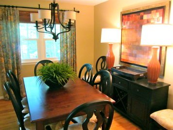 Online design Transitional Dining Room by Chelsea G thumbnail