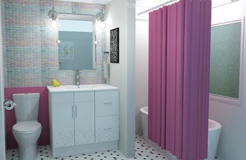 Online design Bathroom by Brittany J. thumbnail