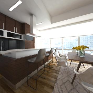 Online design Modern Dining Room by Ibrahim H. thumbnail