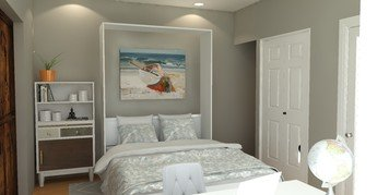 Online design Transitional Bedroom by Brittany J. thumbnail