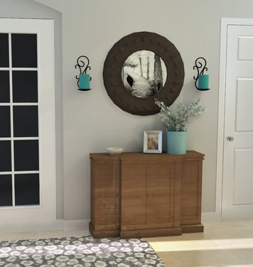 Online design Transitional Hallway/Entry by Laura N. thumbnail