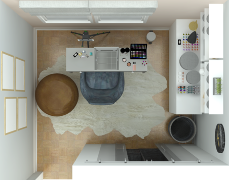 Online design Transitional Home/Small Office by Alberthe B. thumbnail