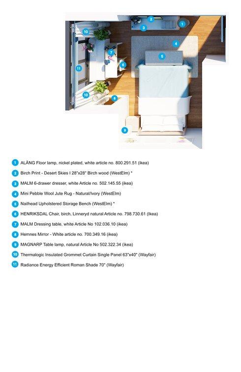 Bedroom Creator Online: Lyn's Modern Living Room & Bedroom Design