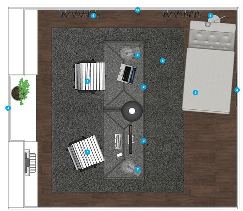 Online Designer Home/Small Office Floorplan