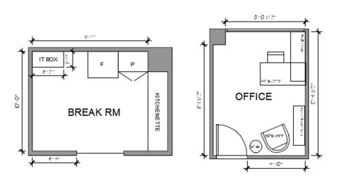 Modern Office Design Breakroom And Kitchen Decorilla