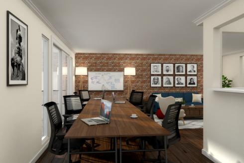 Mid Century Modern Office Design Help Decorilla