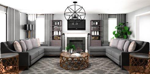 Transitional Living Room Layout Ideas | Decorilla