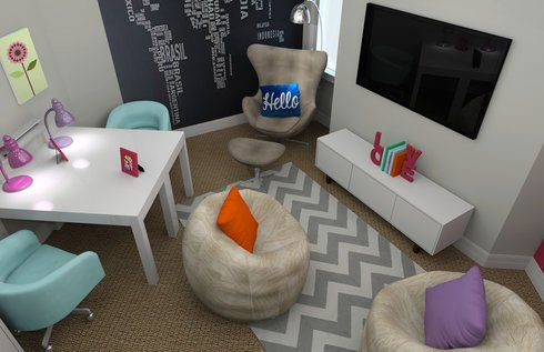 Modern Fun Kids Playroom Decorilla