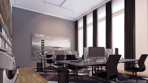Sleek Startup Up Office Design Decorilla