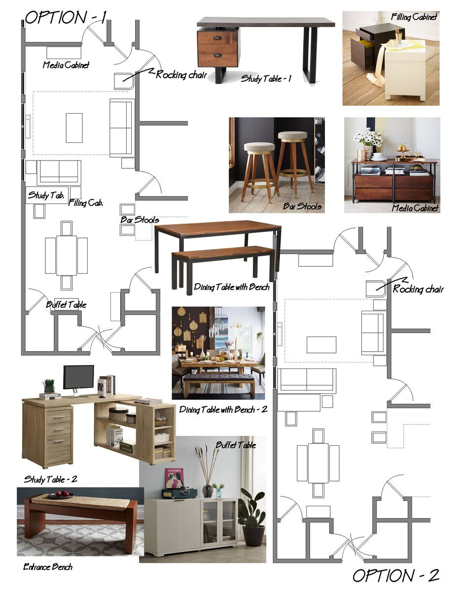 Online Room Design For Free: Samantha's Rustic Chic Living/Dining Room De...