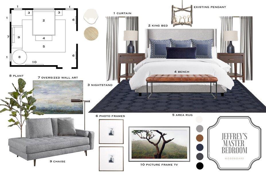 Contemporary Home Interior Design With Blue Decorilla