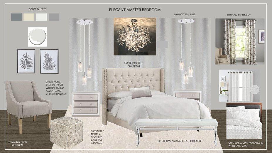 Glamorous And Elegant Master Bedroom Decorilla