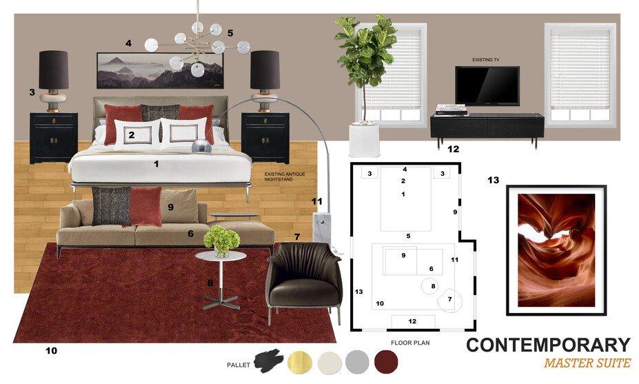 Modern Master Bedroom Interior Design Decorilla