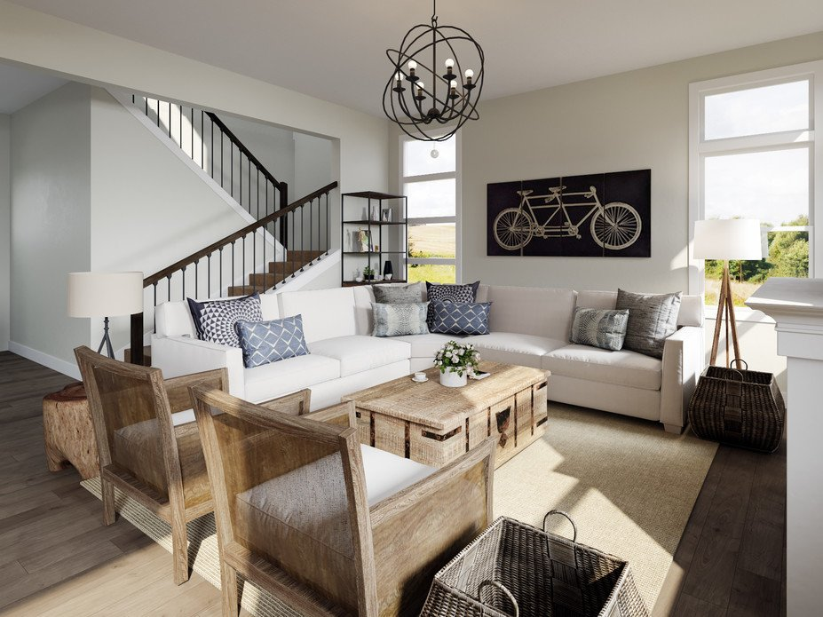 Modern Farmhouse Living Dining Room Decorilla