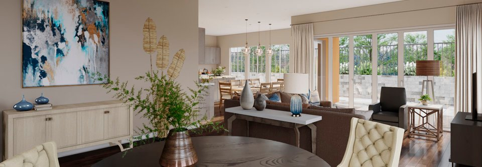 Terrific Transitional Classy Living And Dining Room O Decorilla Squirreltailoven Fun Painted Chair Ideas Images Squirreltailovenorg