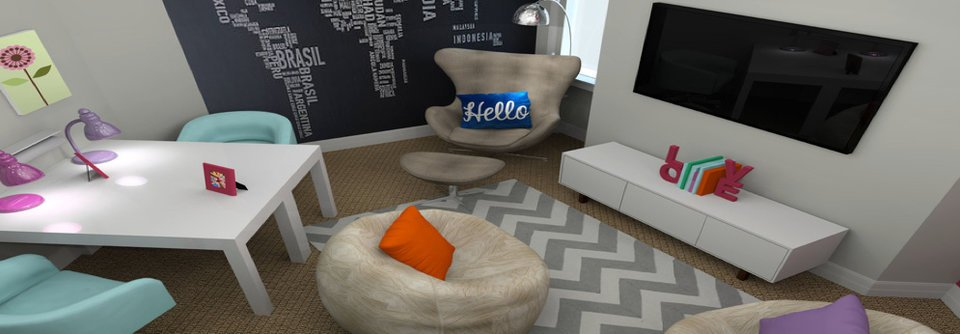 Modern & Fun Kids Playroom   Decorilla